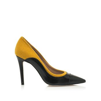 Hannibal Laguna Shoes-Colección Zapatos Stiletto GISA amarillo